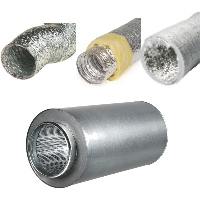 Ventilation ducting and silencers