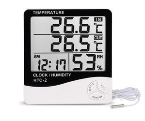 Digital Hygrometer/Thermometer with temperature sensor