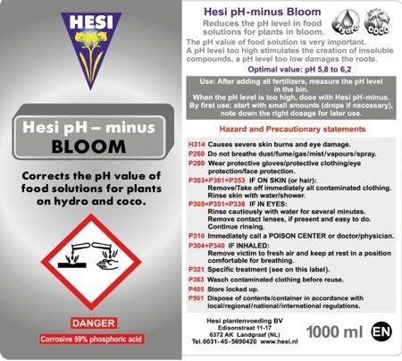 Hesi Ph- Bloom 1L