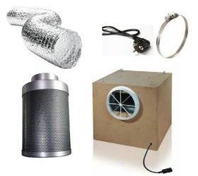 Ventilation Kit Professional 2500m3/h