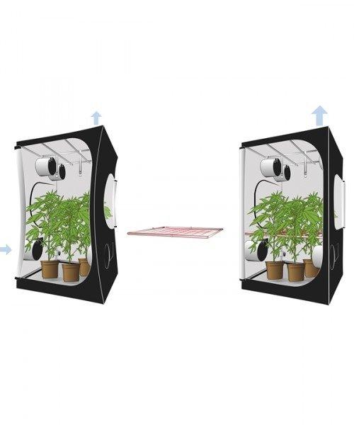 Secret Jardin Space Booster 16mm 100x100cm | Odlings tält